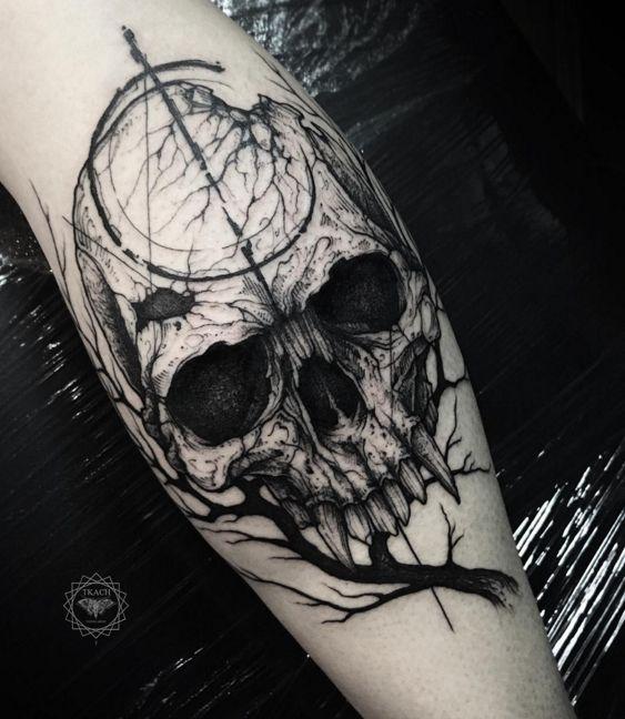 gothic tattoos photo - 23