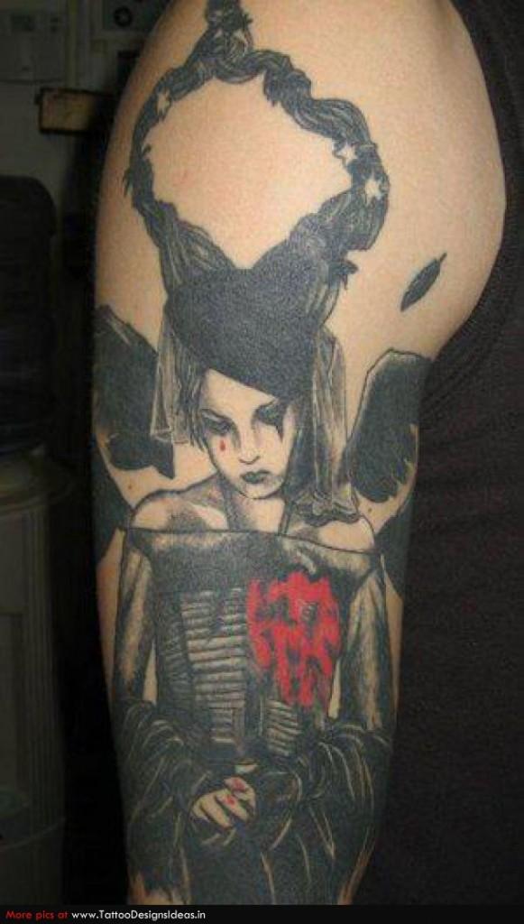 gothic tattoos photo - 33