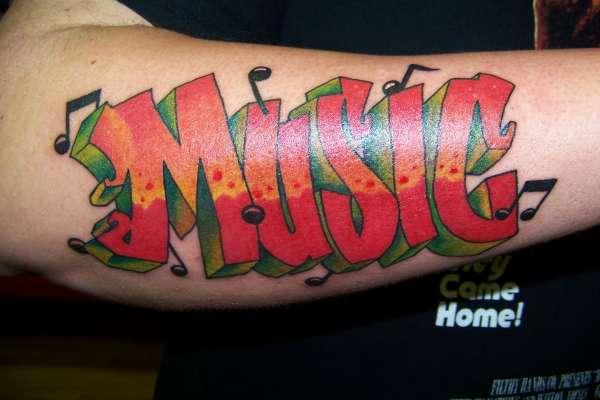 graffiti tattoos photo - 17