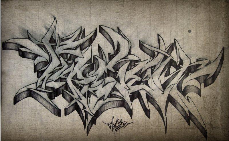 graffiti tattoos photo - 41