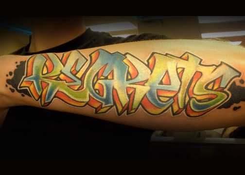 graffiti tattoos photo - 8