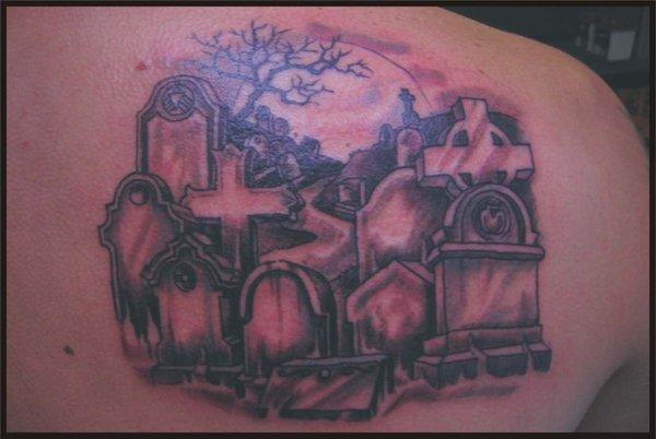 graveyard tattoos photo - 12