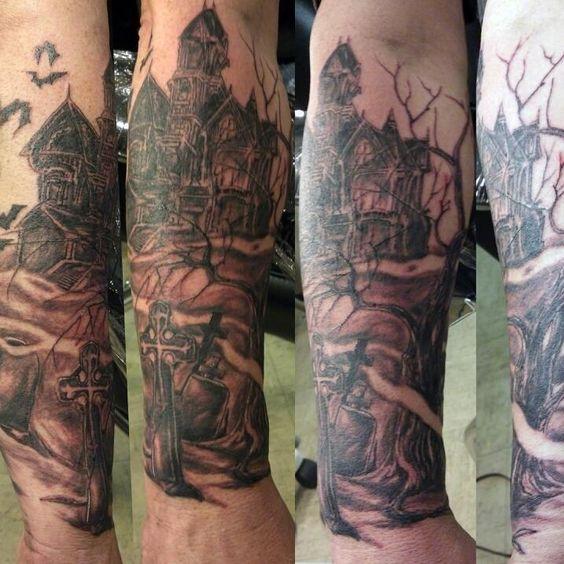 graveyard tattoos photo - 14