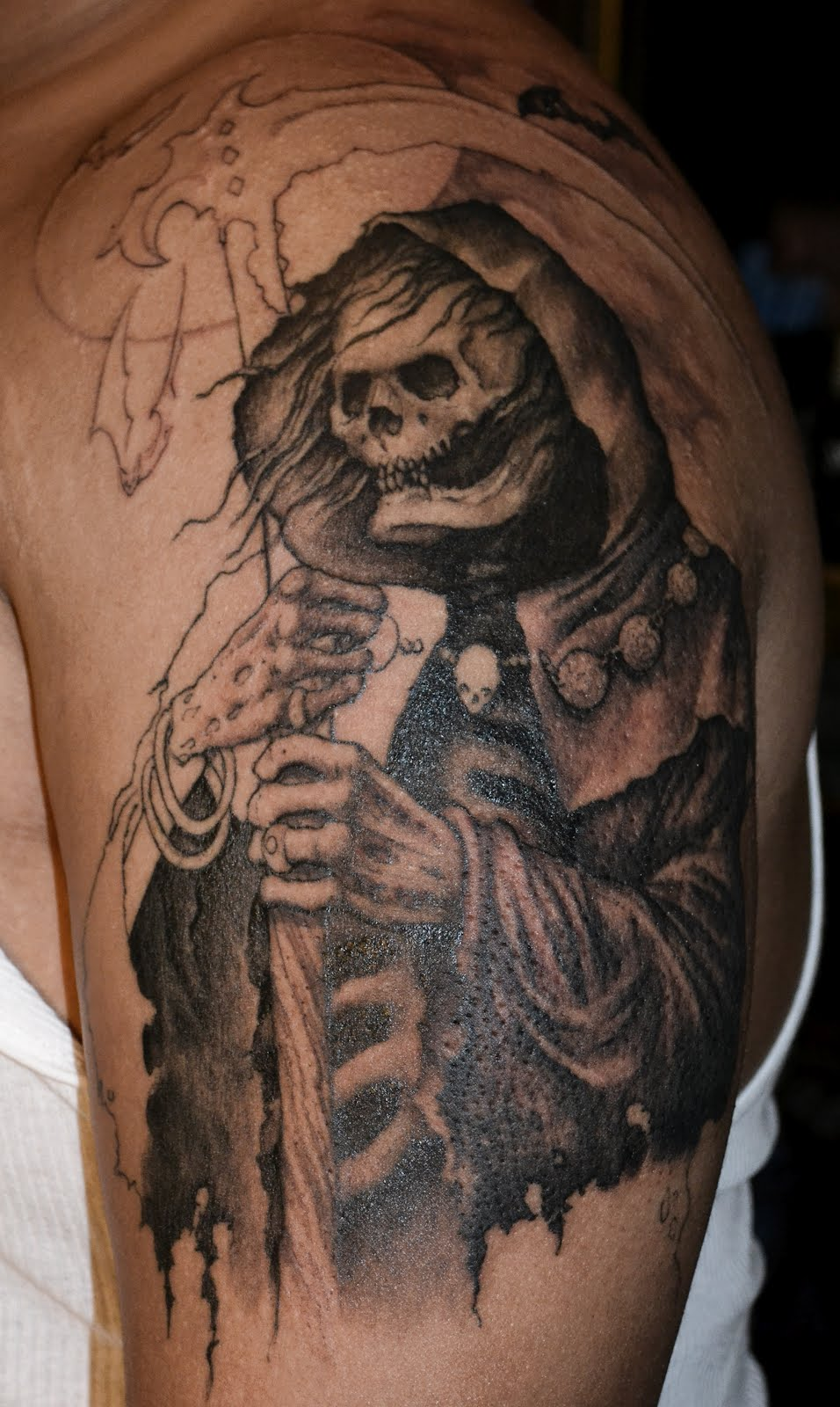 graveyard tattoos photo - 21