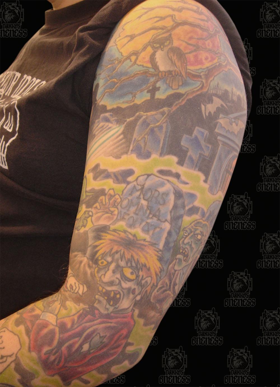 graveyard tattoos photo - 23