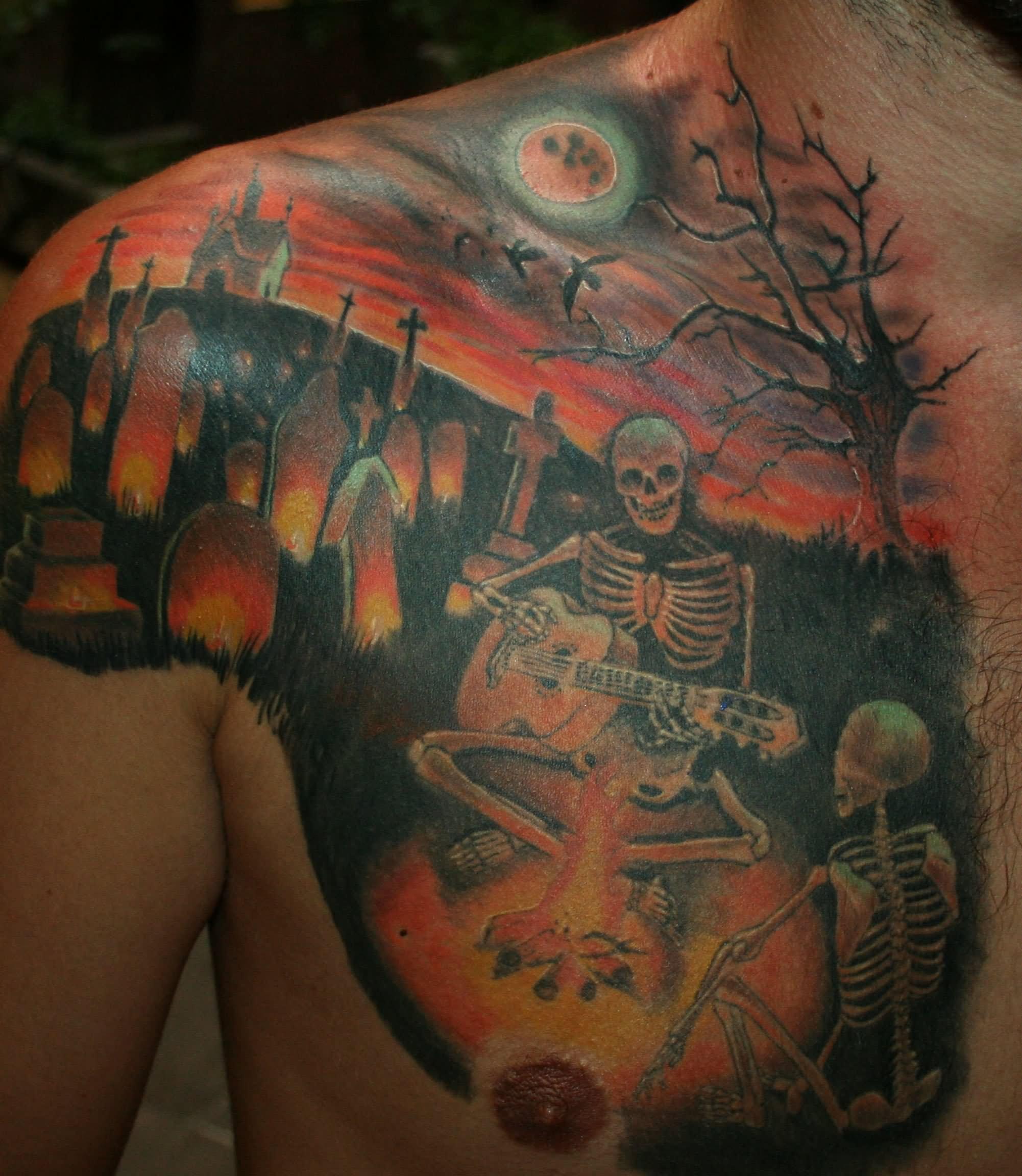 graveyard tattoos photo - 27