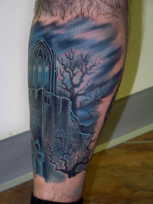 graveyard tattoos photo - 28