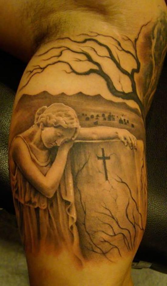 graveyard tattoos photo - 3