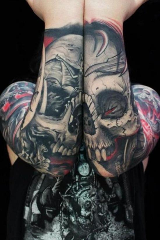 graveyard tattoos photo - 34