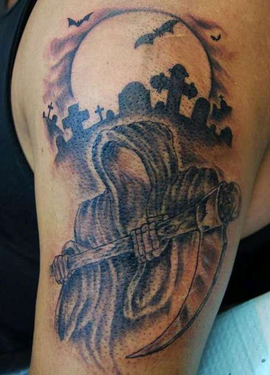 graveyard tattoos photo - 9