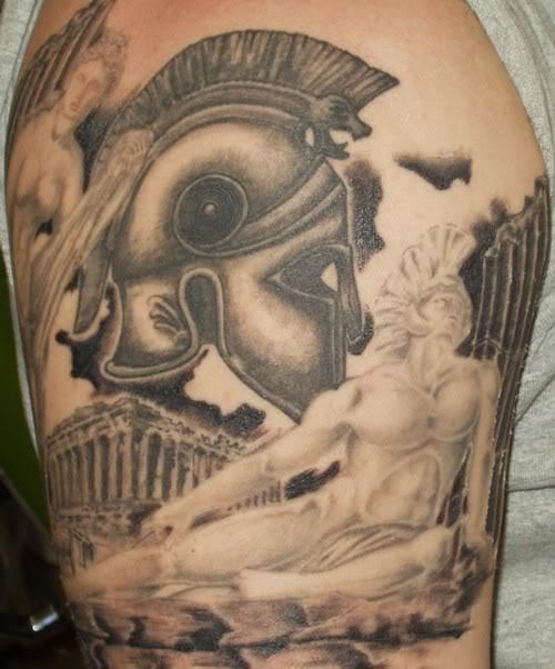 greek tattoos photo - 1