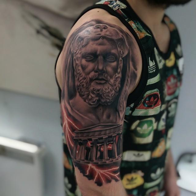 greek tattoos photo - 11