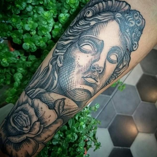 greek tattoos photo - 13
