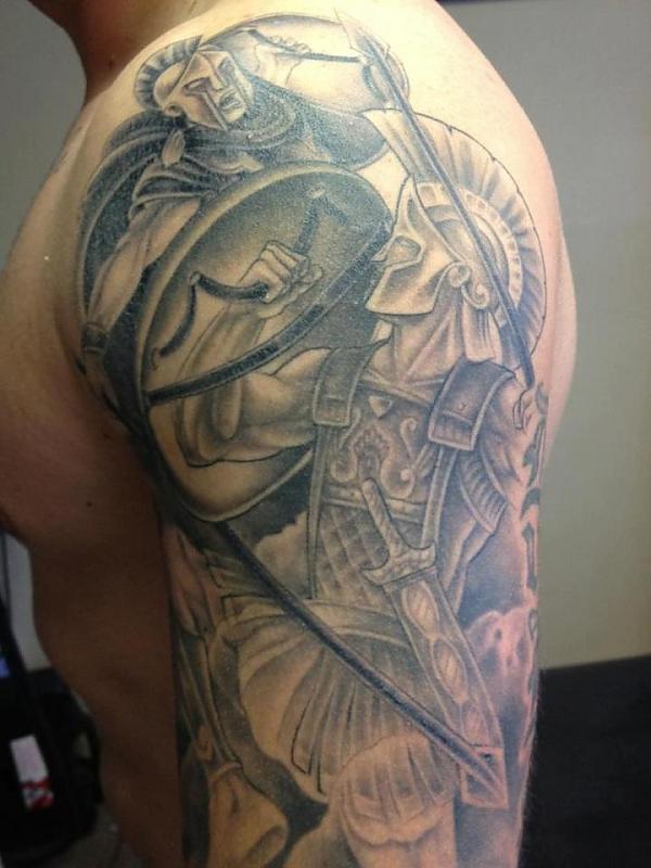 greek tattoos photo - 18
