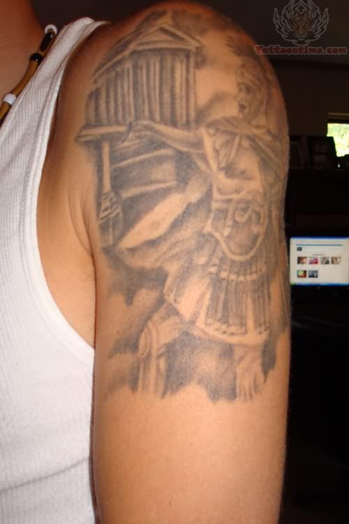 greek tattoos photo - 19
