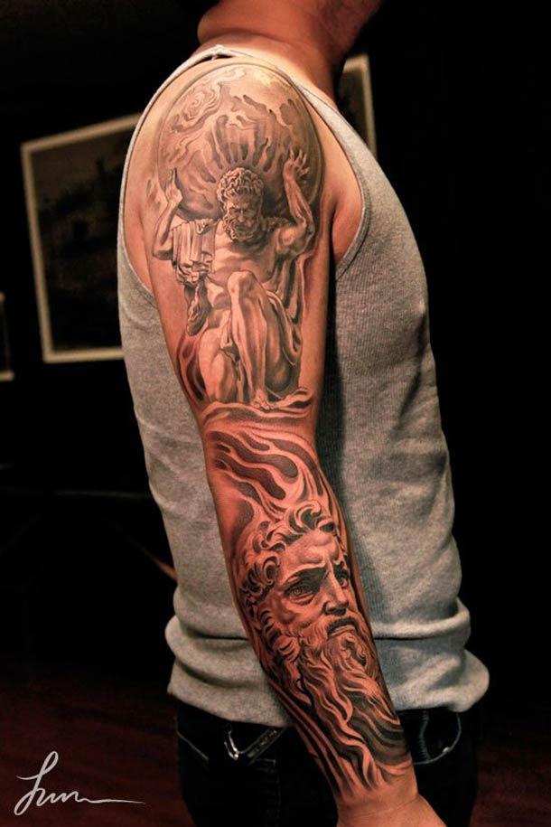 greek tattoos photo - 2