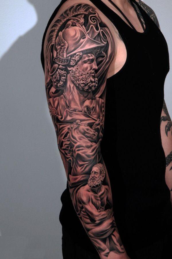 greek tattoos photo - 26