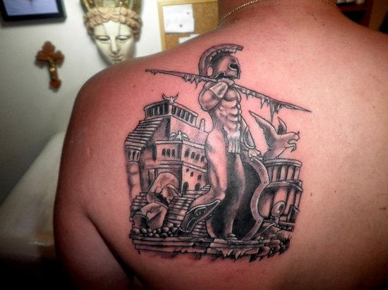 greek tattoos photo - 28