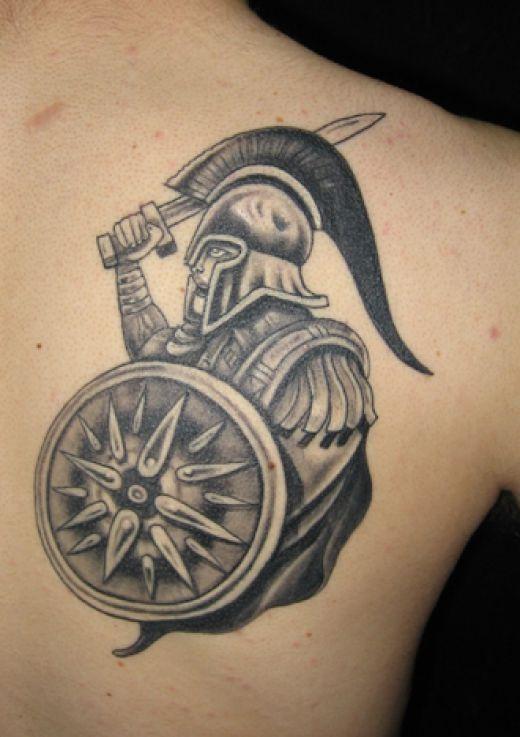 greek tattoos photo - 3