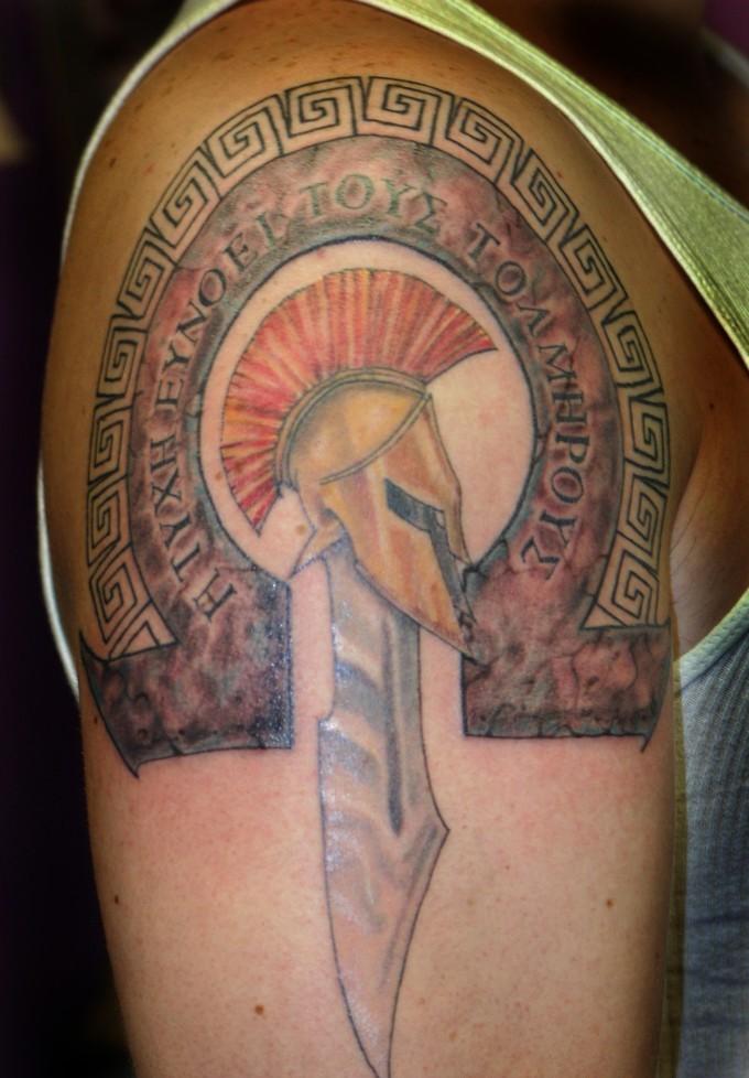 greek tattoos photo - 5