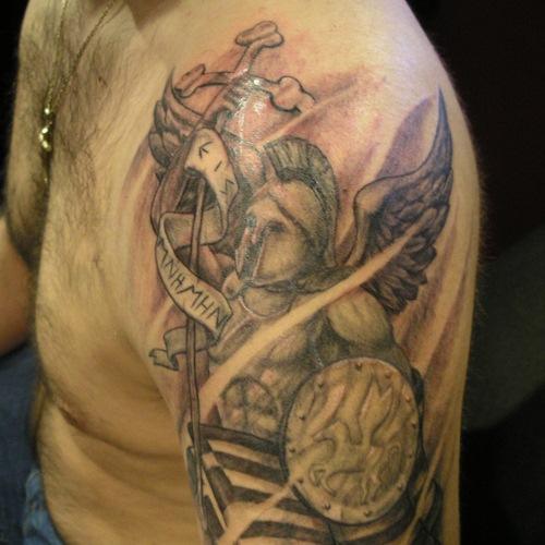 greek tattoos photo - 7
