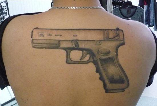 gun tattoos photo - 12