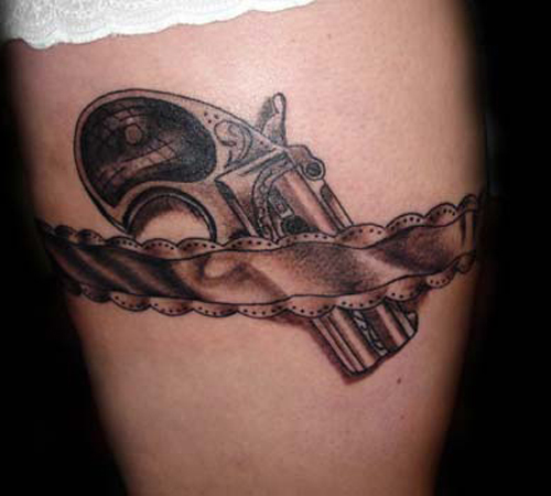 gun tattoos photo - 15