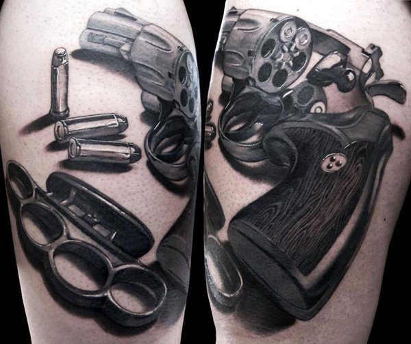 gun tattoos photo - 16