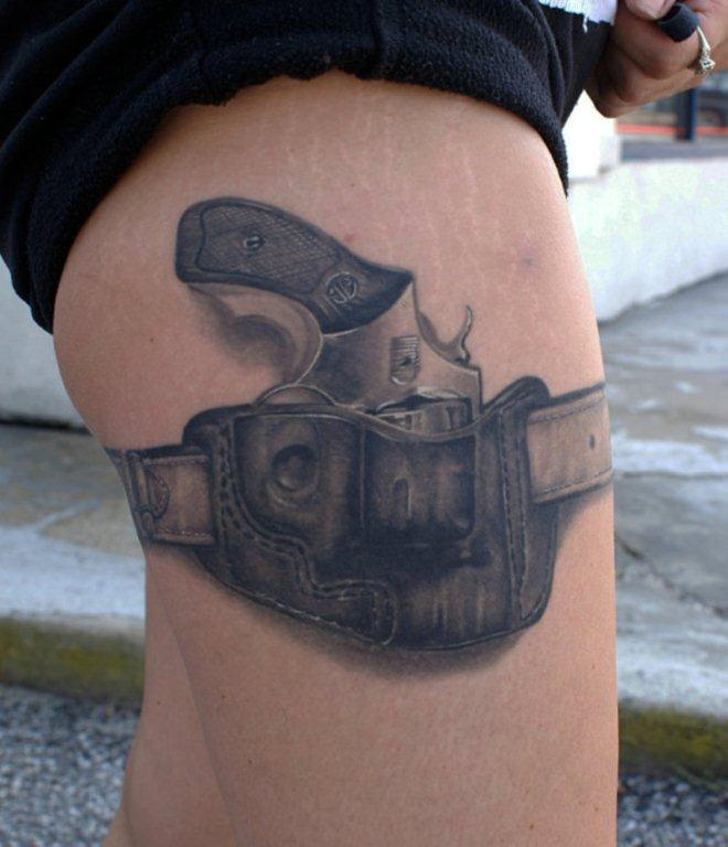 gun tattoos photo - 19