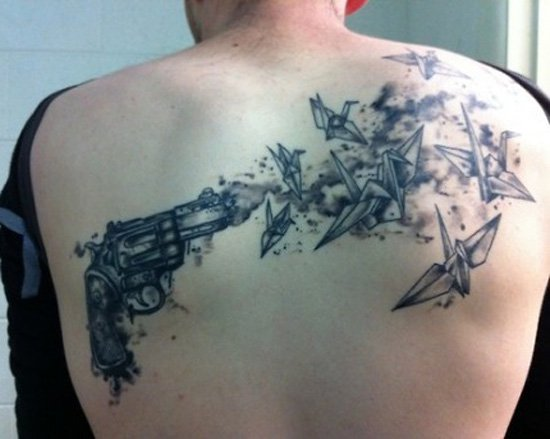 gun tattoos photo - 26