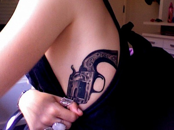 gun tattoos photo - 27