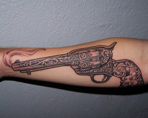 gun tattoos photo - 28