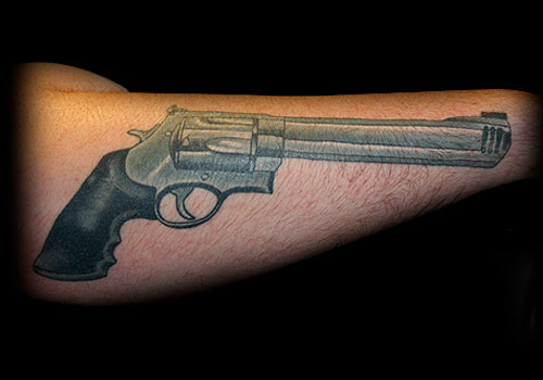 gun tattoos photo - 29
