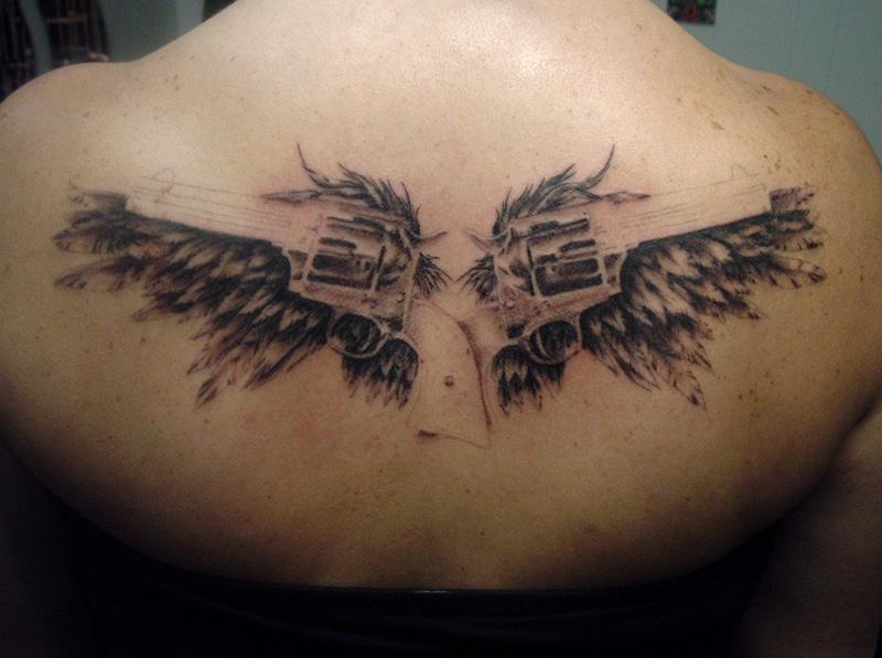 gun tattoos photo - 31