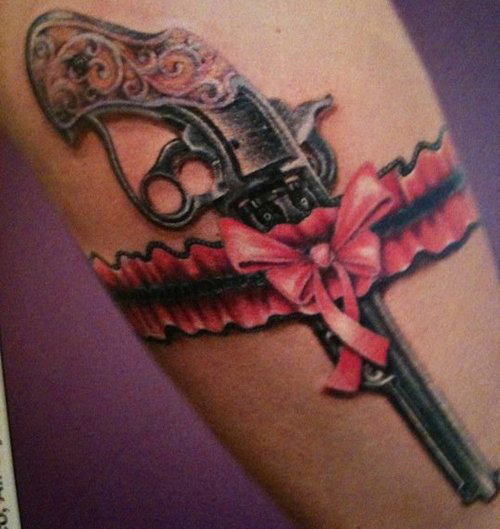 gun tattoos photo - 32