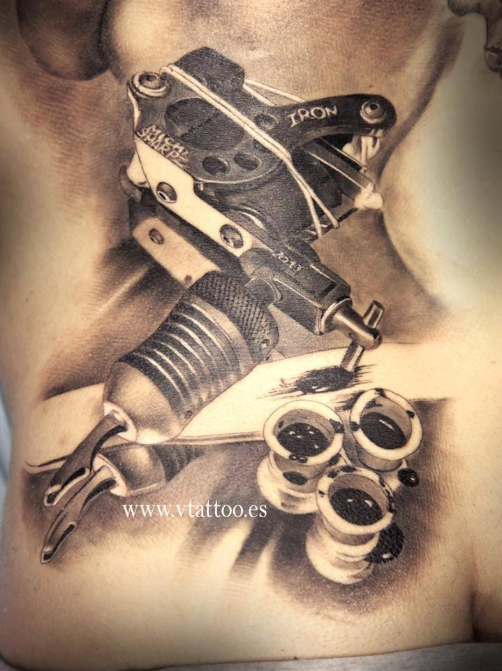 gun tattoos photo - 33