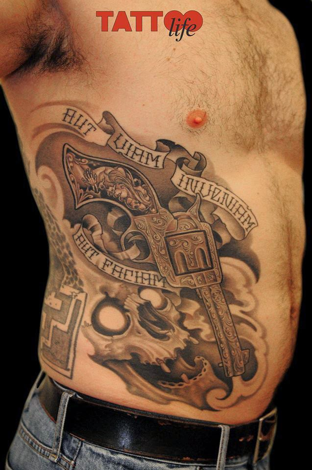 gun tattoos photo - 37