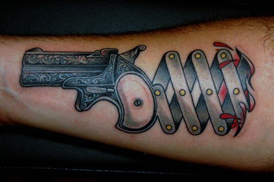 gun tattoos photo - 7