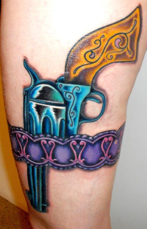 gun tattoos photo - 8