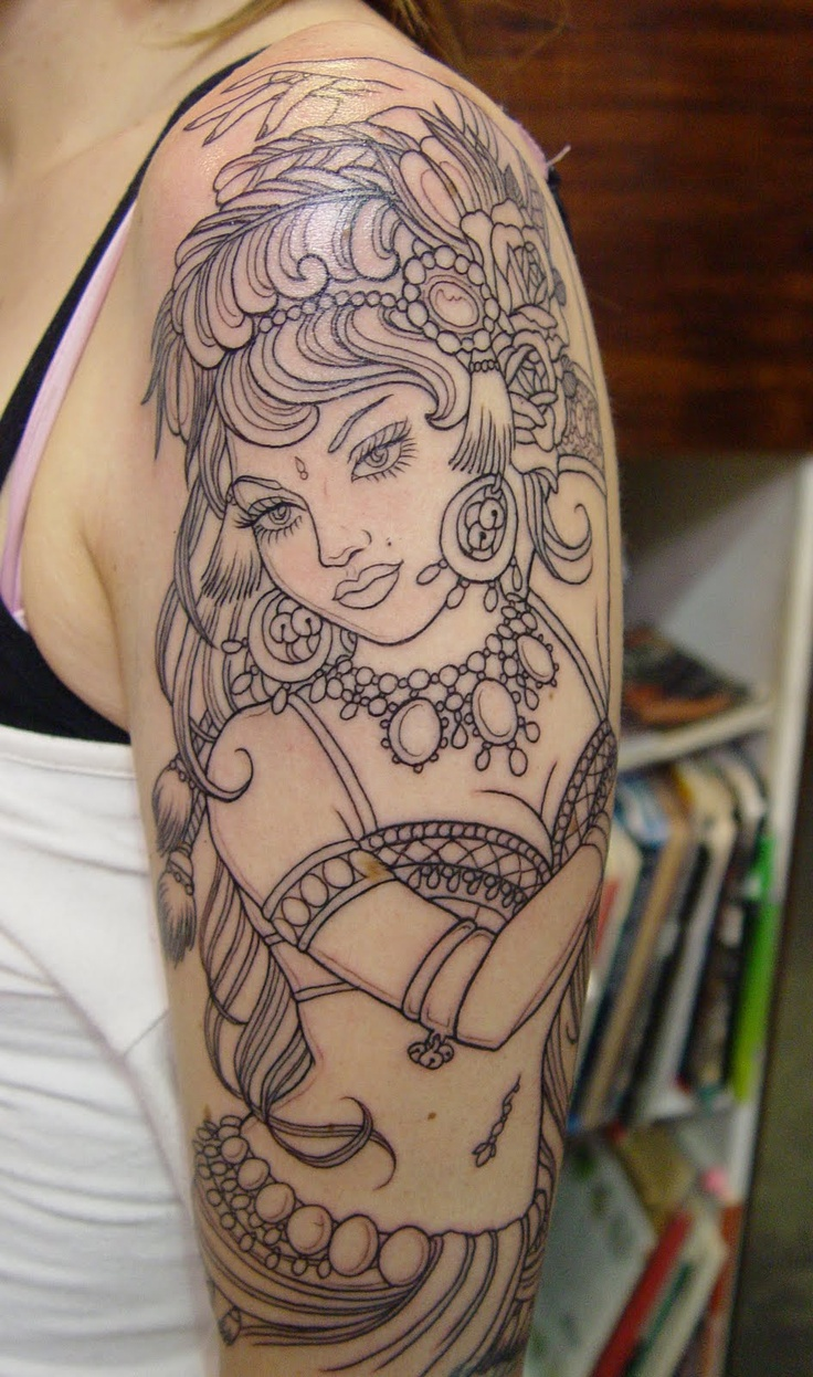 gypsy tattoos photo - 10