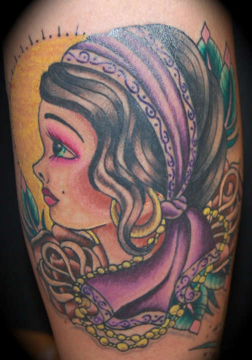 gypsy tattoos photo - 12