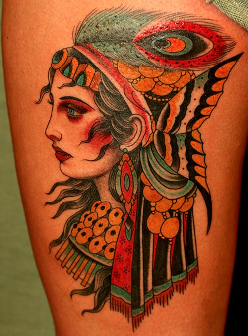 gypsy tattoos photo - 16