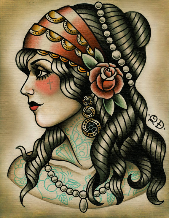 gypsy tattoos photo - 17