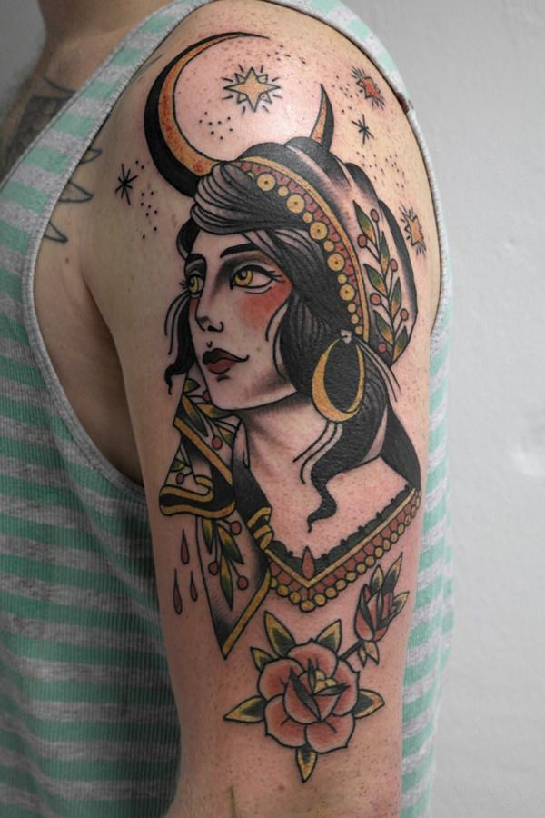 gypsy tattoos photo - 19