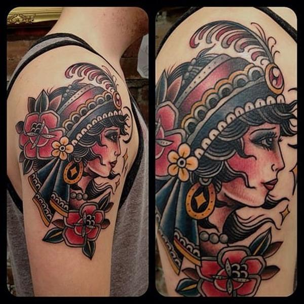 gypsy tattoos photo - 26