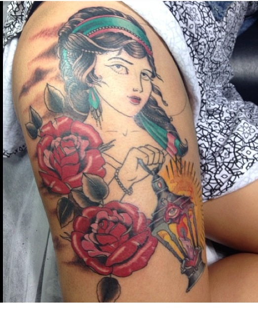 gypsy tattoos photo - 28