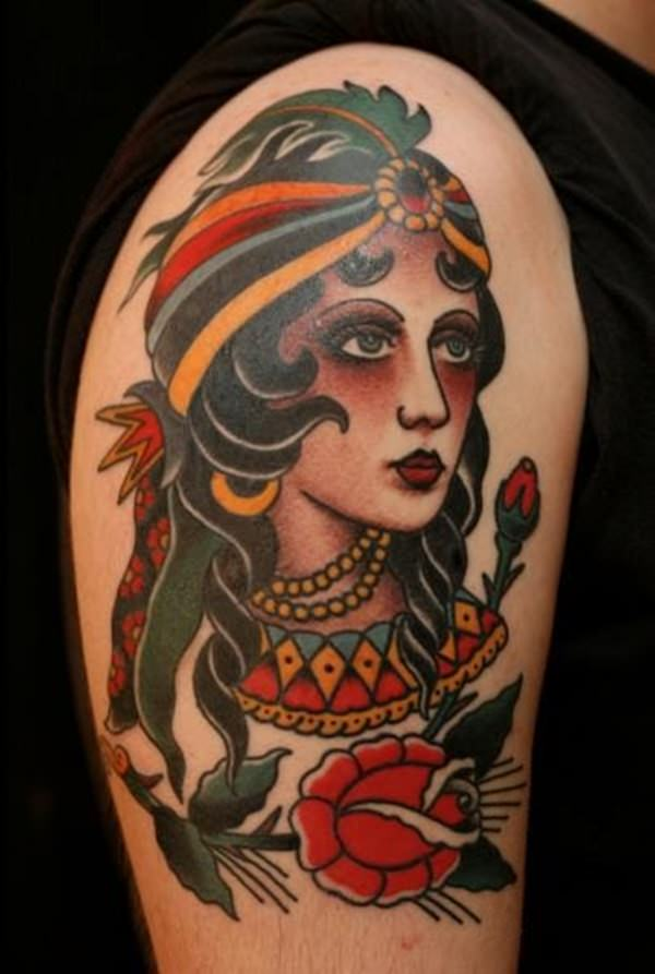 gypsy tattoos photo - 37