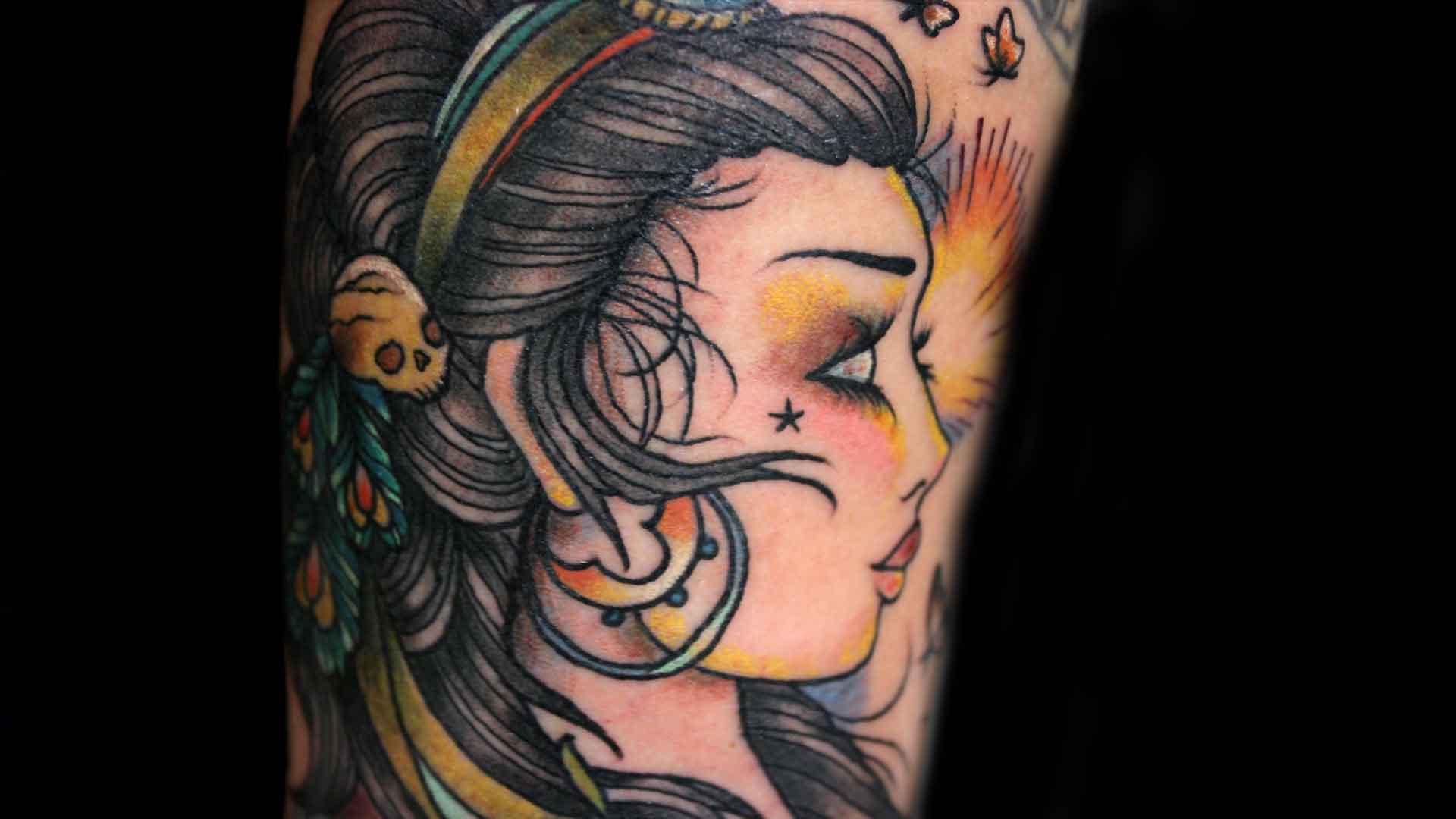 gypsy tattoos photo - 5