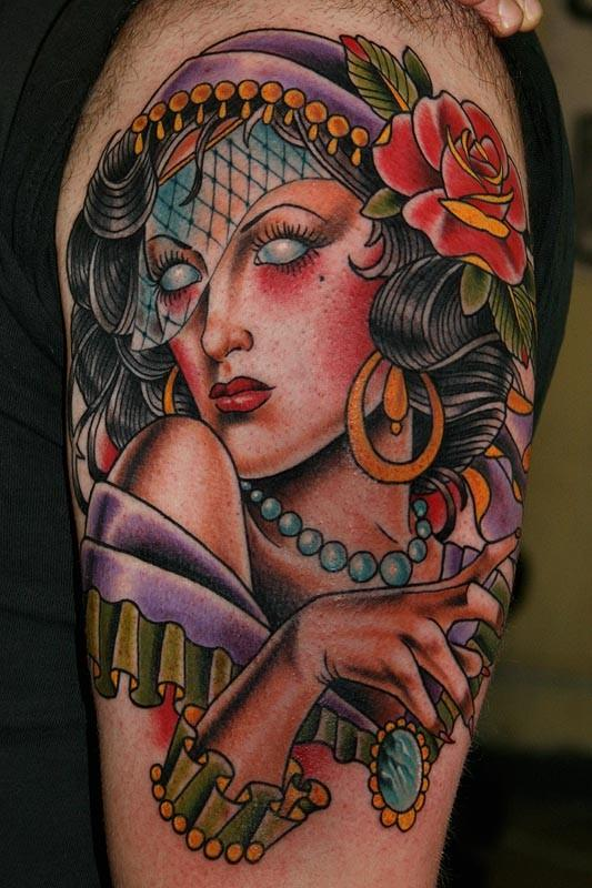 gypsy tattoos photo - 8