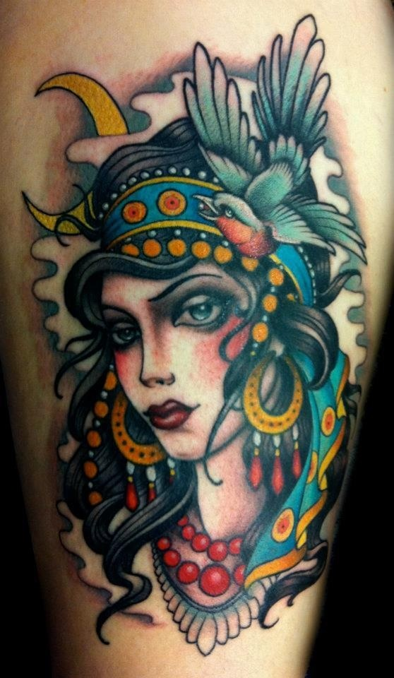 gypsy tattoos photo - 9
